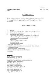 Protokoll der 427. Sitzung - Agrar Bürs