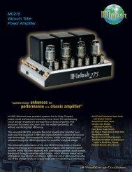 4963 McIntosh MC275 - Audio Classics