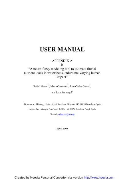 MATLAB M-FILES USE - ASLO