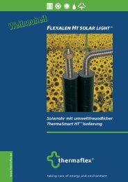FLEXALEN HT SOLAR LIGHTTM - bei Regulus GmbH