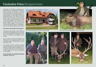 Faszination Polen/Gruppenreisen - Jagdbüro G. Kahle