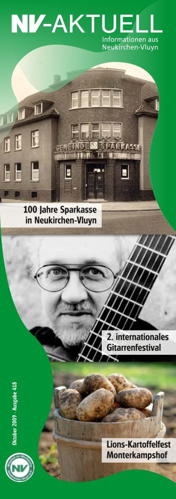 100 Jahre Sparkasse in Neukirchen-Vluyn 2. internationales ...