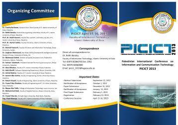 Organizing Committee - VISB