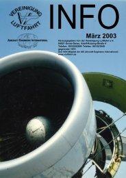 März 2003 - Vereinigung Luftfahrt eV