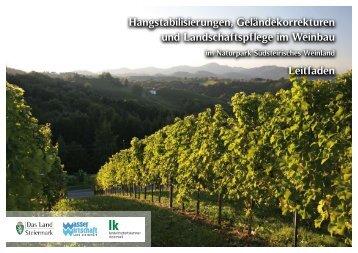 Leitfaden (im pdf-Format, 2,7MB) - Wasserwirtschaft Steiermark