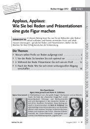 Applaus, Applaus: Wie Sie bei Reden und Präsentationen ... - Stil.de