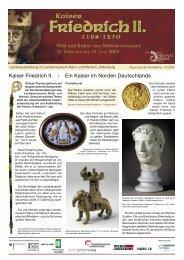 Ausgabe 4 - Kaiser Friedrich II. - Welt und Kultur des ...