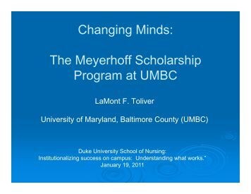 APPLICATION PDF MEYERHOFF UMBC