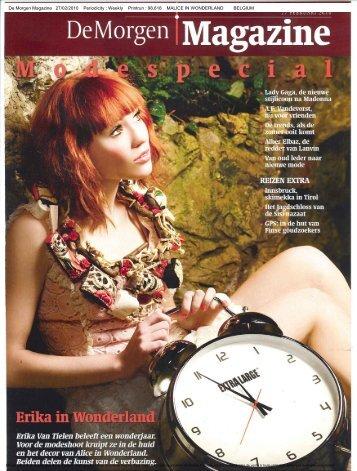 De Morgen Magazine 27/02/2010 Periodicity : Weekly Printrun ...