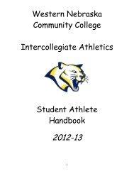Western Nebraska Community College Intercollegiate Athletics ...