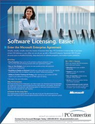 Software Licensing. Easier. » - GovConnection