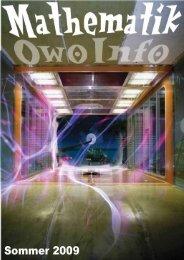 OWO-Stundenplan - Fachbereich Mathematik - Technische ...