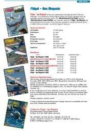 Flügel - Das Magazin - Flying-directory.com