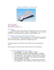 Tutorial SolidWorks : Feature Loft