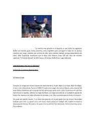 Aprendiendo con Pep Guardiola - Marcelo Roffe / Alto Rendimiento