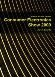 Compte rendu du CES de Las Vegas (Janvier 2009) - ConceptSL