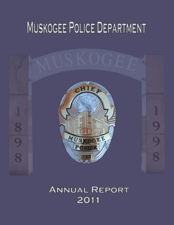 Muskogee Police Department - City of Muskogee