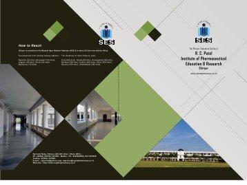 R. C. Patel Institute of Pharmaceutical Education & Research