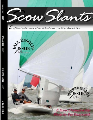 Fall/Winter 07 Part 1 - Inland Lake Yachting Association