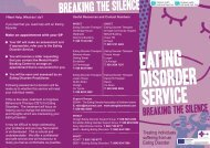 Treating individuals suffering from an Eating Disorder