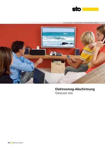 anwendungsbeispiel abschirmung von elektrosmog platingtech. Black Bedroom Furniture Sets. Home Design Ideas