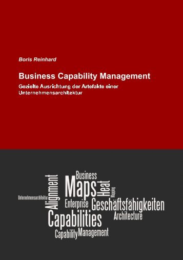 Business Capability Management - Generate Value