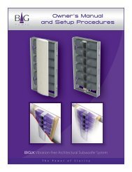 Product Manual - BG Radia