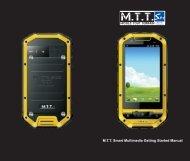 M.T.T. Smart Multimedia Getting Started Manual - Mobile Tout Terrain