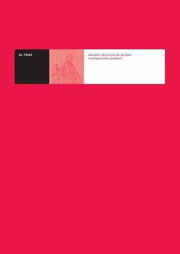 El Tema. Introducción (110 Kb.) - Injuve