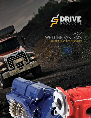 2012 Wetline Catalogue - Drive Products