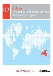 Océanie - Le point sur l'épidémie de sida - Résumés par ... - unaids