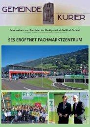 SES ERÖFFNET FACHMARKTZENTRUM - Nußdorf-Debant