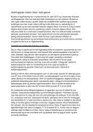 Uttalelse fra Buskerud legeforening - Vestre Viken HF