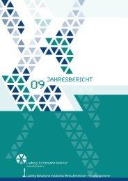Finanzierungsquellen 2009 FV - Ludwig Boltzmann Institut für ...