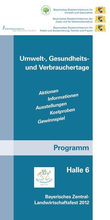 Quiz - Bayerisches Staatsministerium für Umwelt und Gesundheit ...