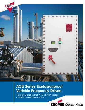 ACE Series Explosionproof Variable Frequency Drives