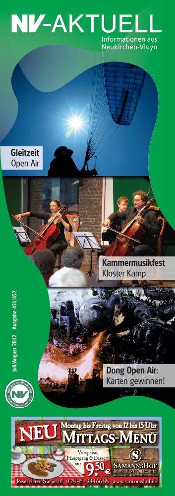Nr. 451/452 :: Juli/August 2012 - Werbering Neukirchen-Vluyn
