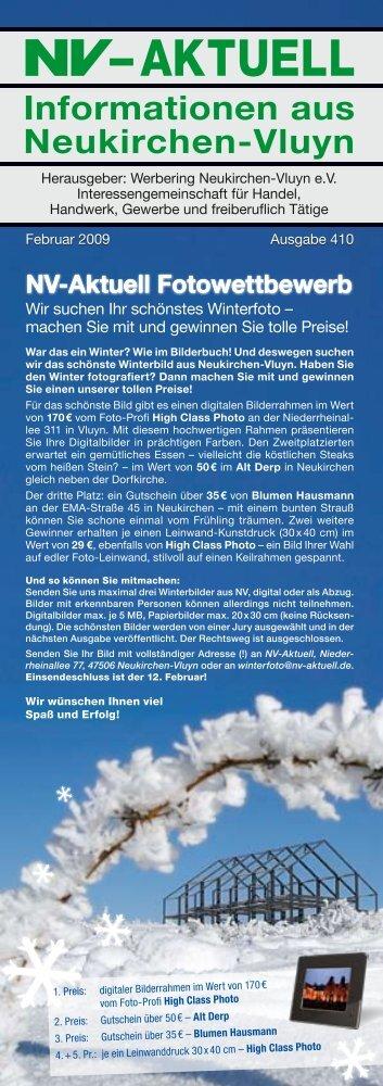 Nr. 410 :: Februar 2009 - Werbering Neukirchen-Vluyn