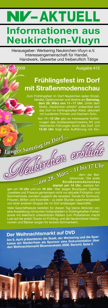 Nr. 412 :: April 2009 - Werbering Neukirchen-Vluyn