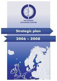 Strategic Plan for the Nordic Cochrane Centre