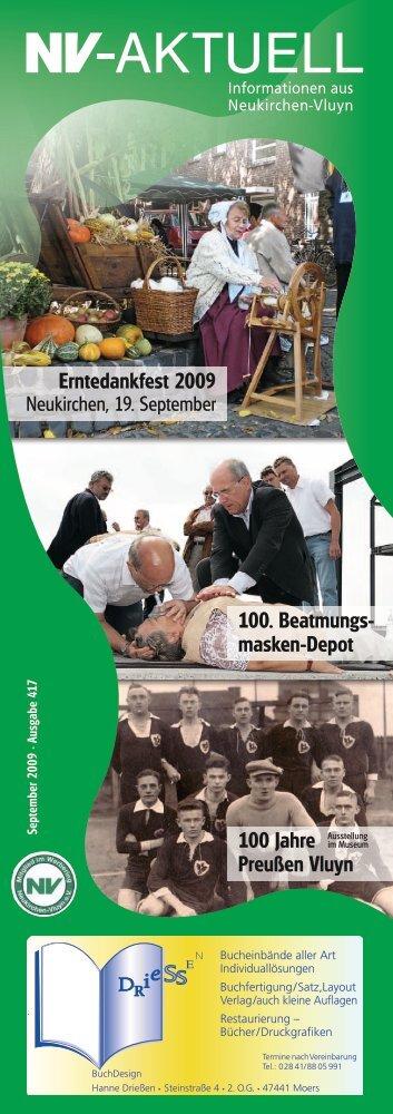 Erntedankfest 2009 100. Beatmungs - Werbering Neukirchen-Vluyn