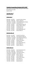 Tentative Competition Schedule [10.07.12(2)] - Yarmouth Ice Club