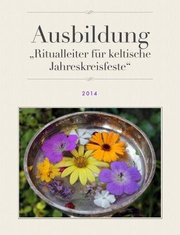 """""""Ritualleiter für keltische Jahreskreisfeste"""""""