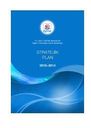 Stratejik Plan - MEB Eğitek - Milli Eğitim Bakanlığı