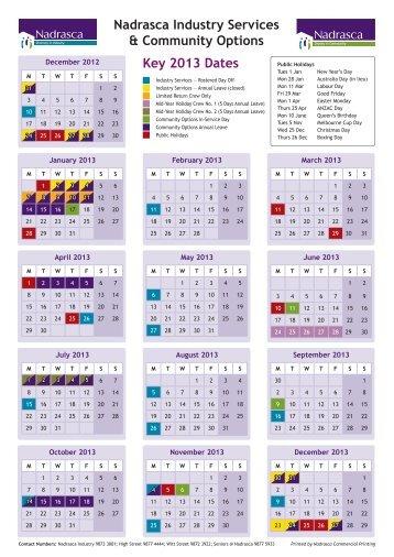 Nadrasca 2013 Calendar and Help us Save the Farm flyer