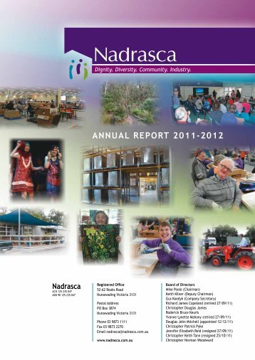 Nadrasca Annual Report 11/12 Abridged
