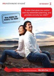 English Brochure - Prudential Malaysia