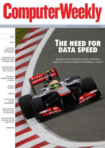 The need for data speed - Bitpipe