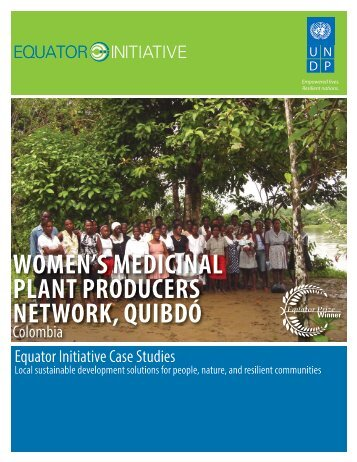 women's medicinal plant producers network, quibdó - Equator Initiative