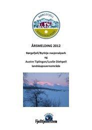 Årsrapport Børgefjell 2012.pdf - Blogg